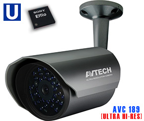 AVTECH AVC 189 Ultra High Resolution Camera CCTV